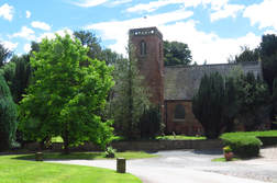 Churchill church, Blakedown church, Broome church; Churchill church photo
