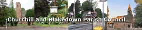 Churchill & Blakedown Parish Council website